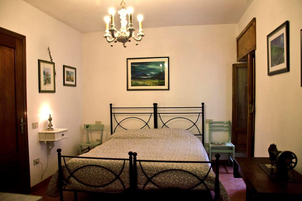 camera matrimoniale 2 con letti scomponibili