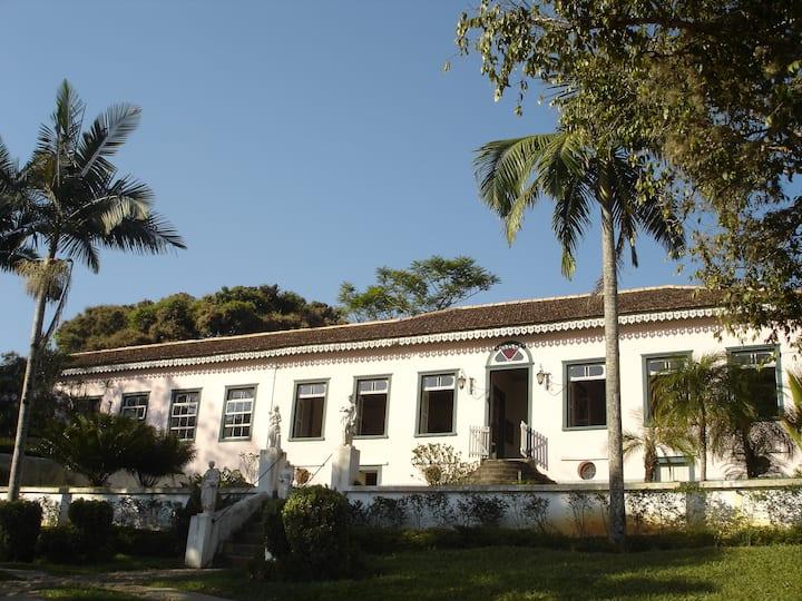Fazenda Conceição, casa de 1850 Roseira São Paulo