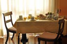 Prima colazione con vista Duomo