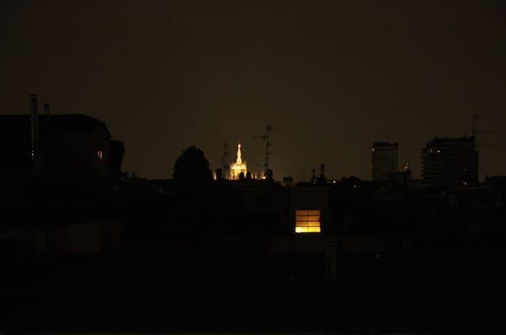 Vista Duomo di notte