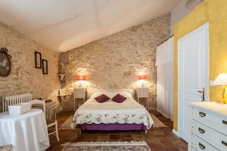 Chambre Muscat 25 m2 lit en 160 - Cuxac-d'Aude