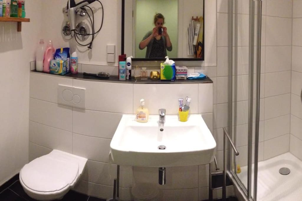 New bathroom, renovated in March