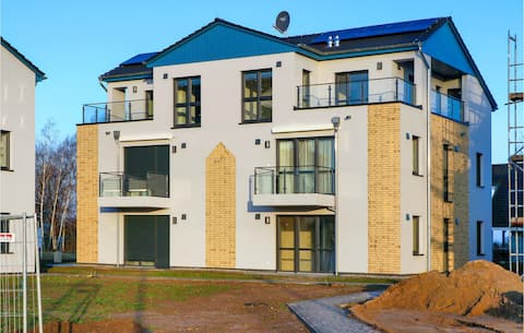 Holiday apartment with 1 bedroom on 59m² in Rechlin