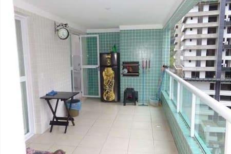 Apartmaneto completo para lazer em família . - Praia Grande - Apartmen