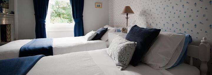 Luxury Twin bedroom in Alnwick