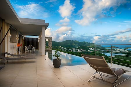 Sunrise - Perfect Romatic Getaway - St Martin - Villa