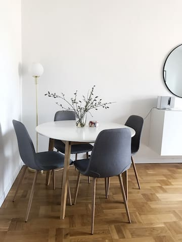 Apartment for two in central Uppsala!