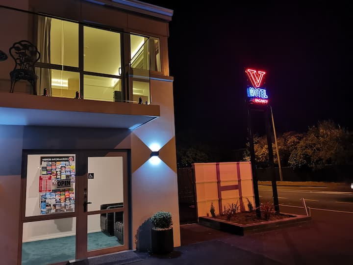 Brand New V Motel Christchurch in Papanui Area