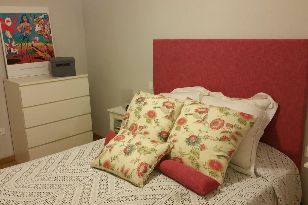 La habitación goza de todas las comodidades posibles