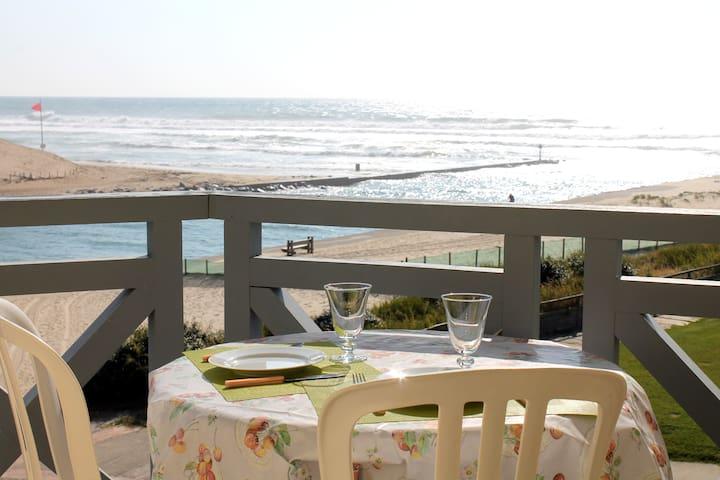 Studio alcove avec vue sur l'océan - Mimizan - Appartement en résidence