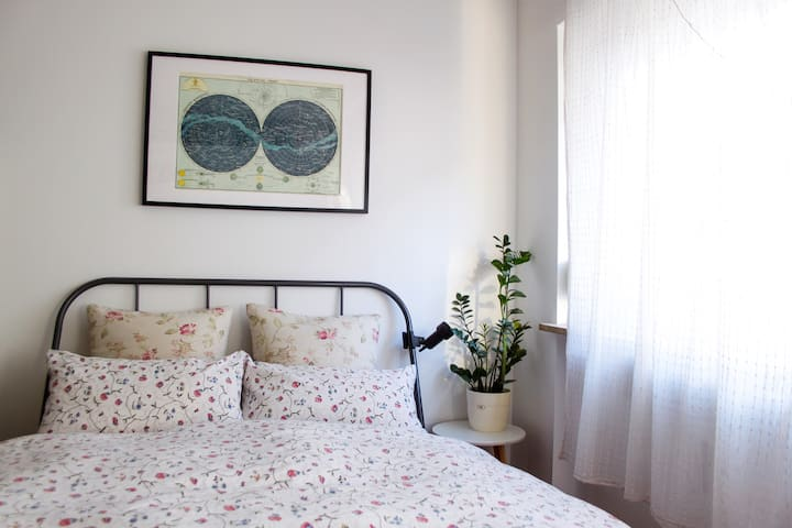 Cosy apartment close to the city center and FAIR