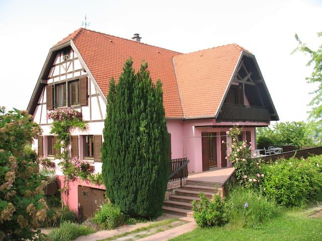 Le Katzengarten, gîte de charme - Gueberschwihr - Casa