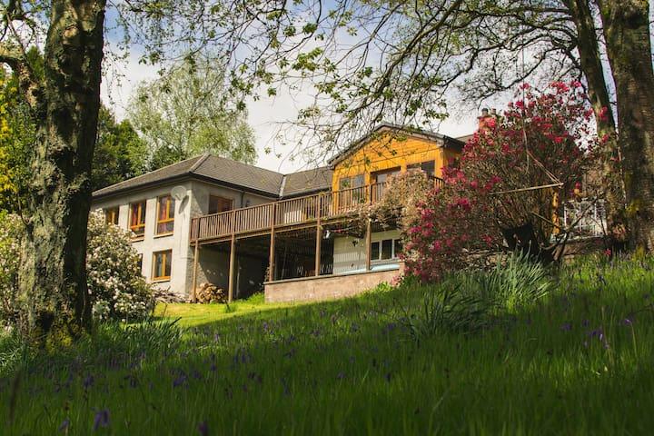 Luxury double room near Loch Lomond
