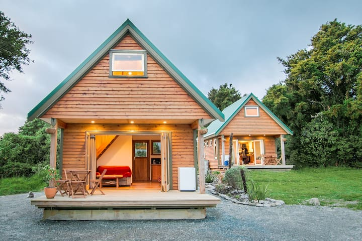 Kahere Retreat handcrafted chalet - Franz Josef Glacier - Chalupa