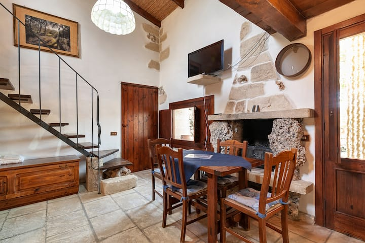 Tipica casetta in pietra B - in Villa