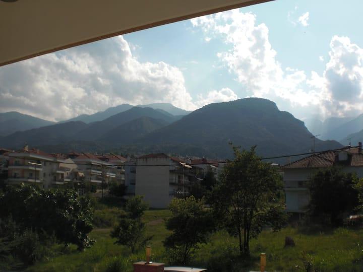 Διαμέρισμα στο Λιτόχωρο με εκπληκτική θέα