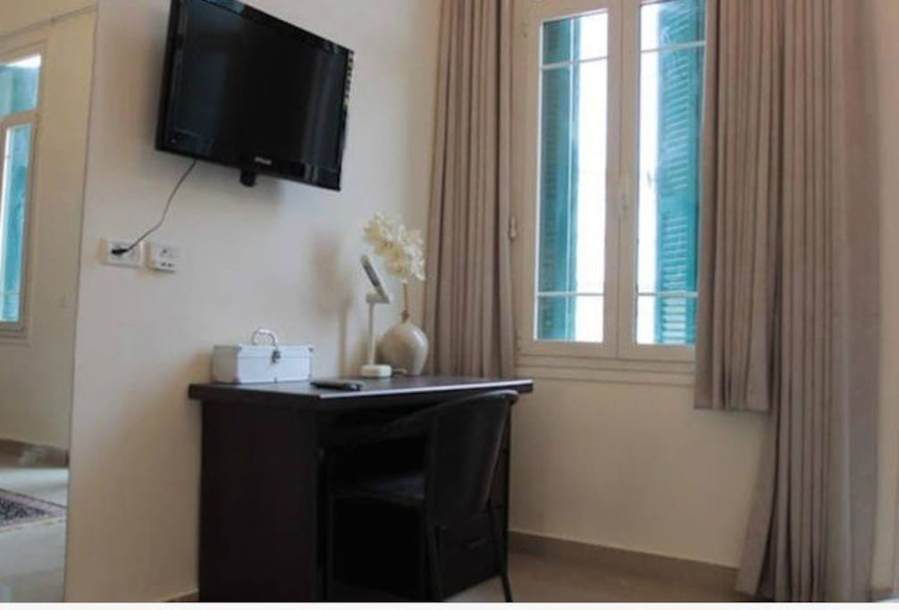 Cable Plasma TV with great selection of movies and channels!  WiFi throughout apartment also..
