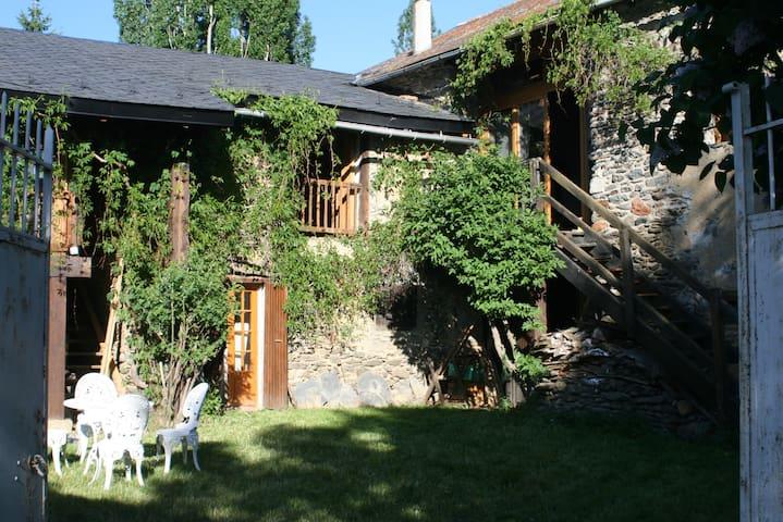 bergerie cerdane avec jardin - Err - บ้าน