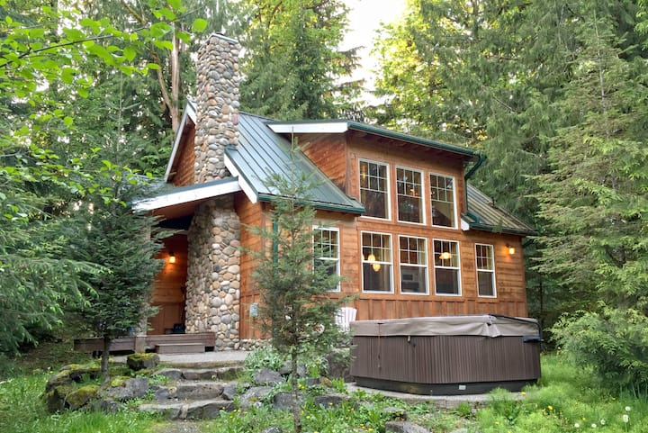 💗Mt. Baker Rim Family Cabin #11 - HOT TUB-BBQ❄️