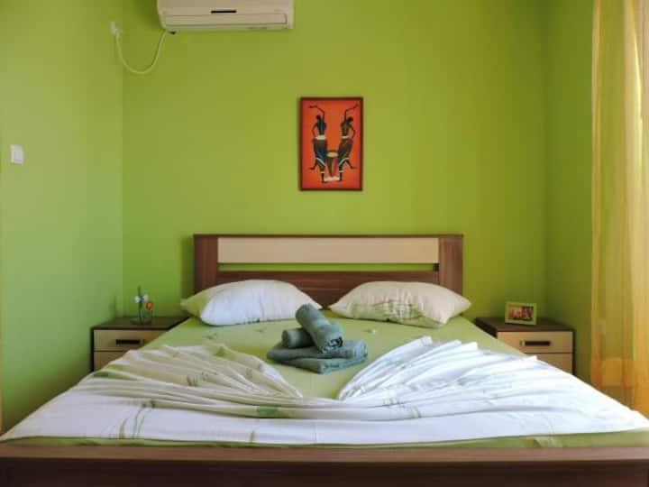 Apartment green 2+1 studio
