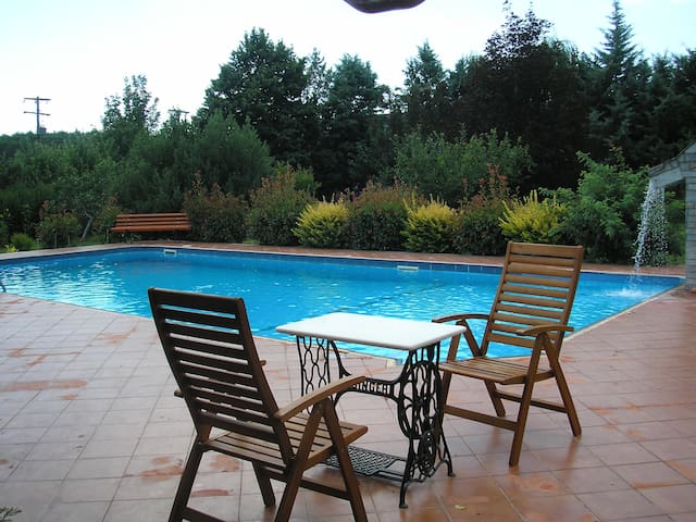 Spacious country house with pool - Likostomo - Villa