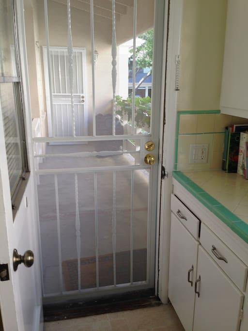 Kitchen/back porch