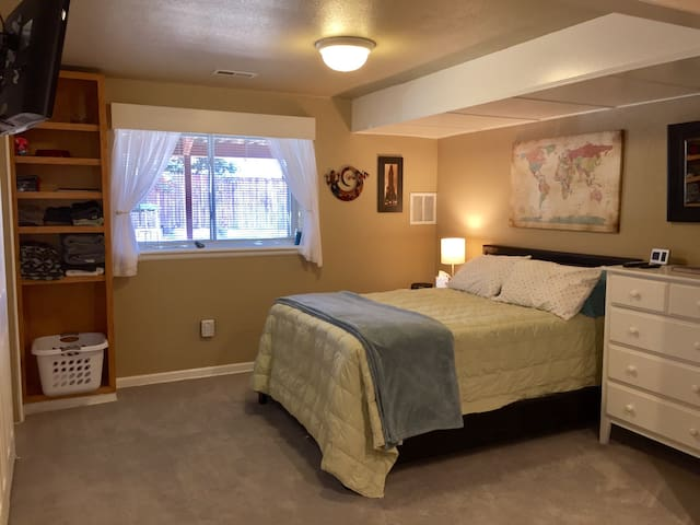 Entire lower level with kitchenette & full bath