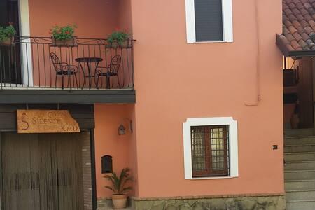 Casa Silente Km 0 (camera con due letti singoli)