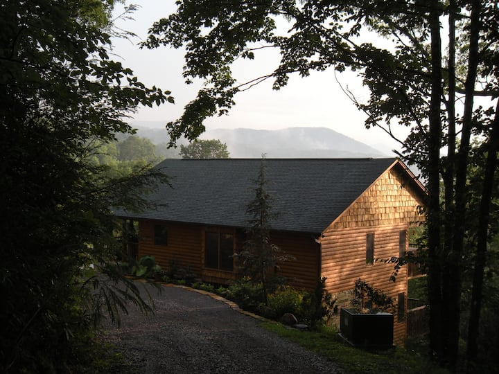 High Expectations Gatlinburg Cabin Mountain View