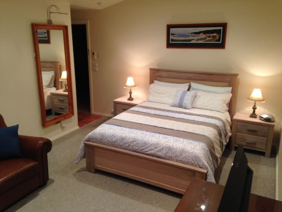 The Coastal suite is comfortable and fully appointed
