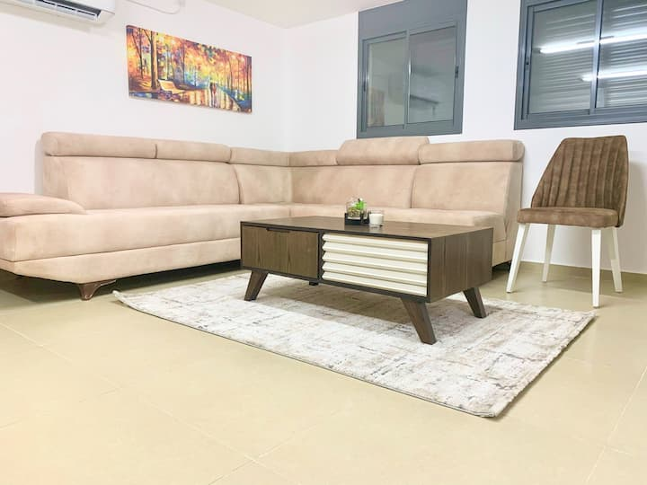 Cozy two bedroom apartment in the Golan Heights