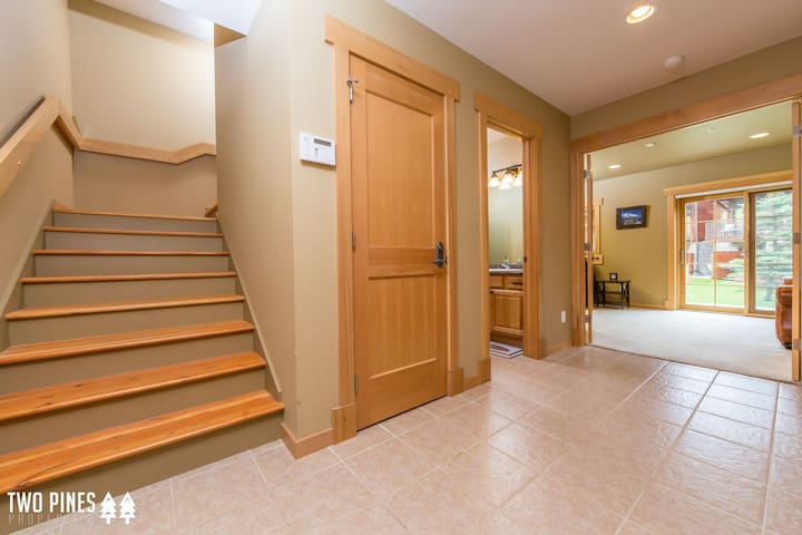 Main Level Entry Mudroom Area