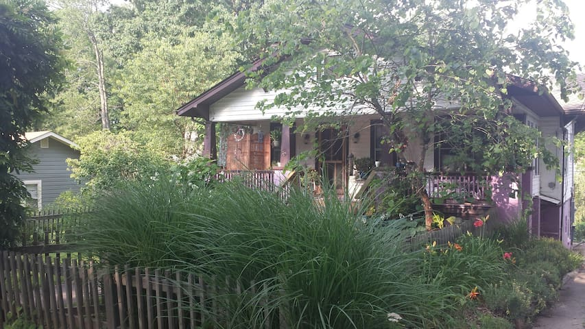 Location, Location-West Asheville w/ Pvt. Entrance