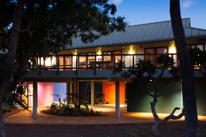 Hale ke Alaula (Sunset glow house) - Puako - Casa