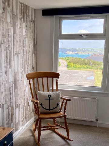 Relax and enjoy the view from the bedroom