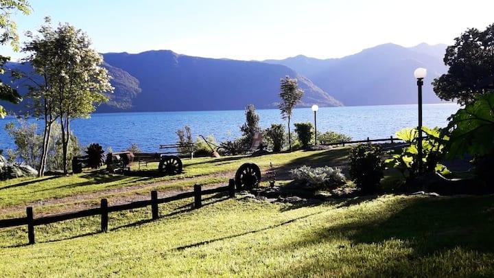 Arriendo casa de veraneo en Lago Colico