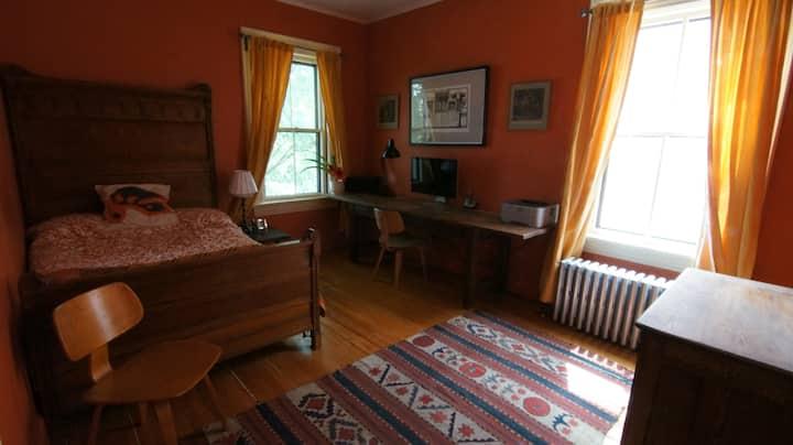 Beautiful corner room in historic home