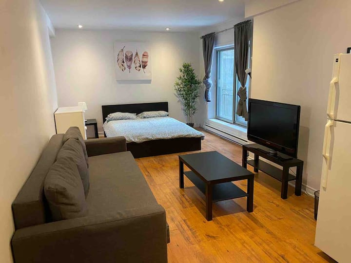 Cozy loft downtown - Rachel street