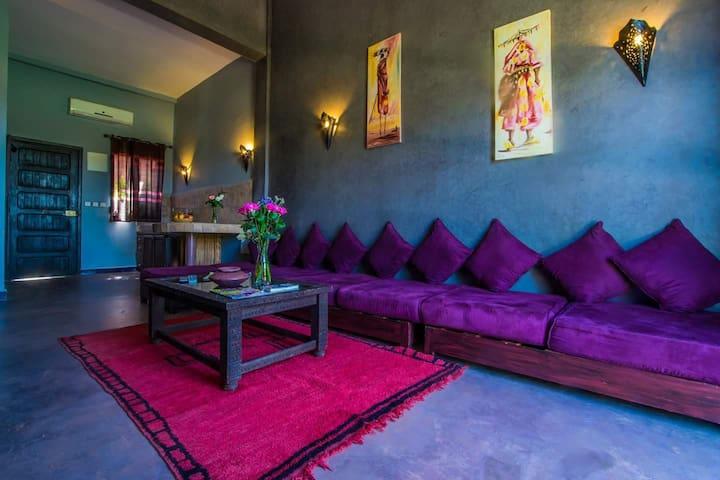 Villa 4 personnes  pas cher  Marrakech - Lahebichate