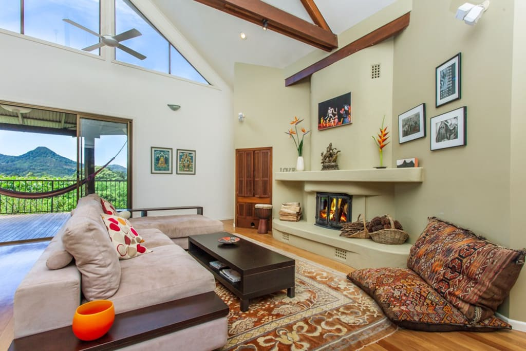 Perfect winter get away with open fireplace