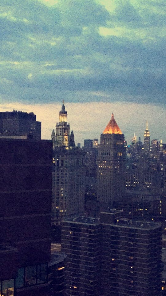 View from Bedroom of Empire State