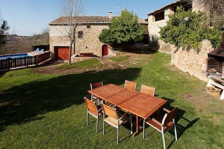 Nice Country house for holidays - Preciosa Masia - La Baronia de Rialb - Hus