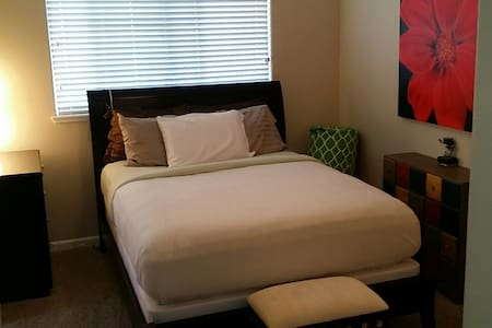 Near Napa Clean Master Bedroom  :)