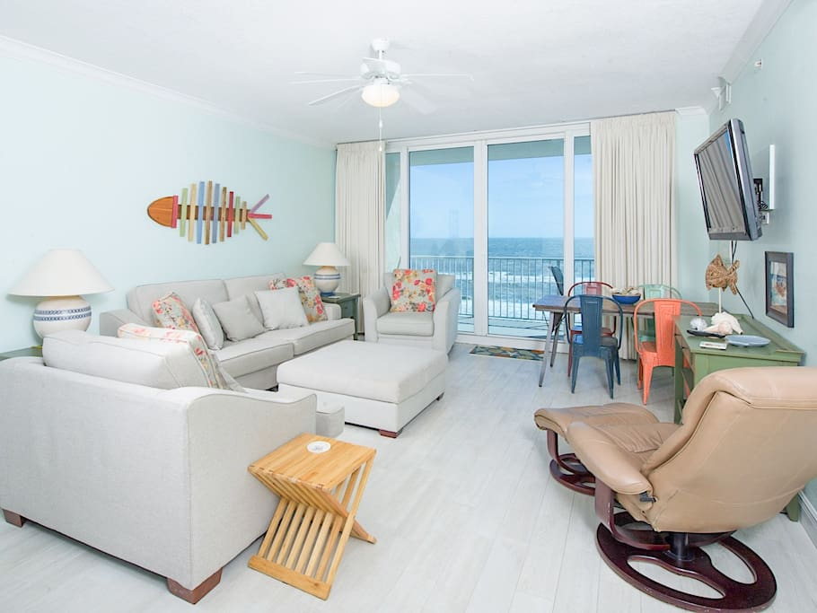 Your condo offers a spacious layout, generous natural light, and a private balcony with stunning gulf views.