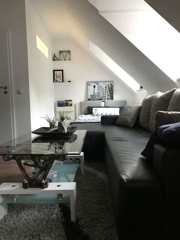 Moderne Einzimmerwohnung mitten in Aachen