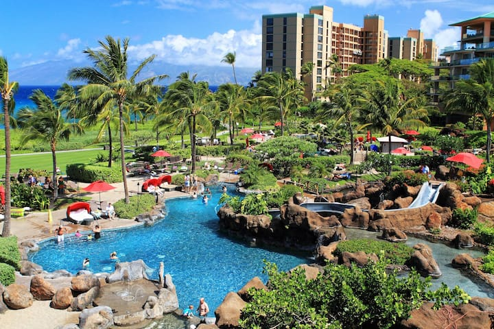 Pristine Honua Kai condo w/ ocean view, resort pools, hot tubs, walk to beach