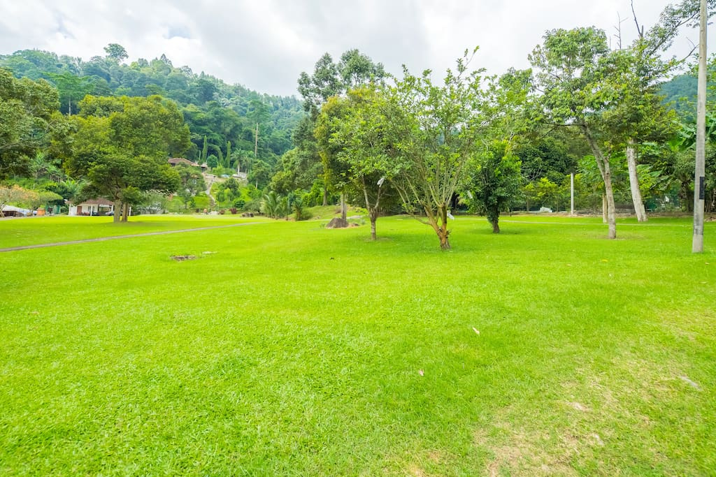 House of Sen: The biggest private garden in Bukit Tinggi