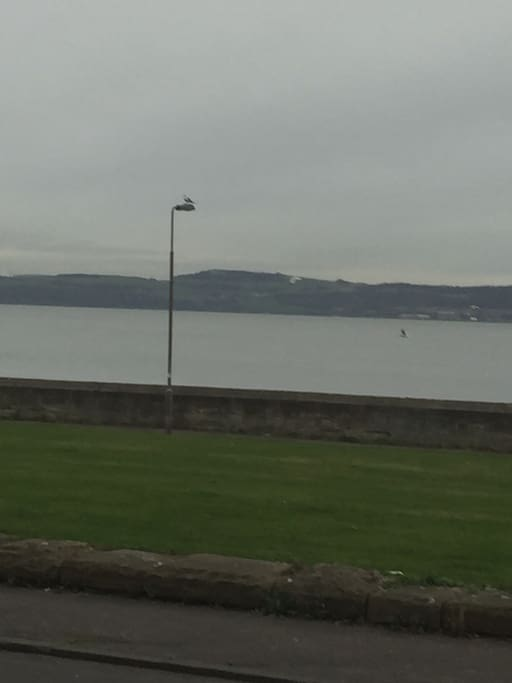 You can see across to Fife, walk to Newhaven, Leith, Silverknowes or Cramond!