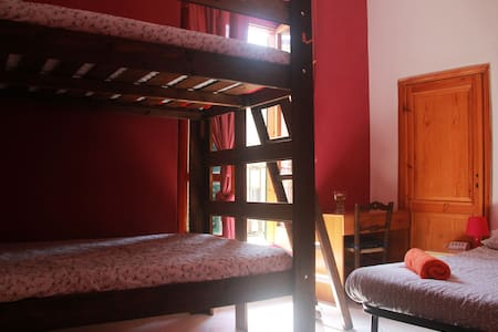 Quadruple Room in center with river view&balcony - Pisa