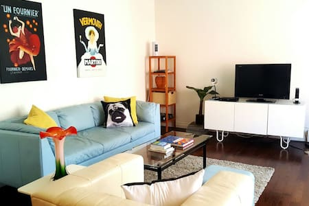 1 BR on trendy 17th Ave, Walk to DT - Huoneisto